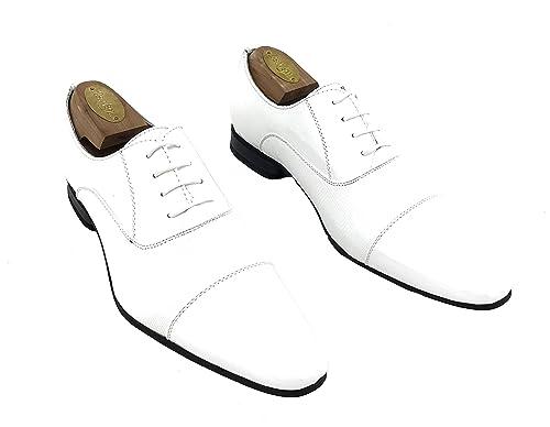 Zapatos Oxford Hombre Fiesta Charol con Cordones para Vestir ...