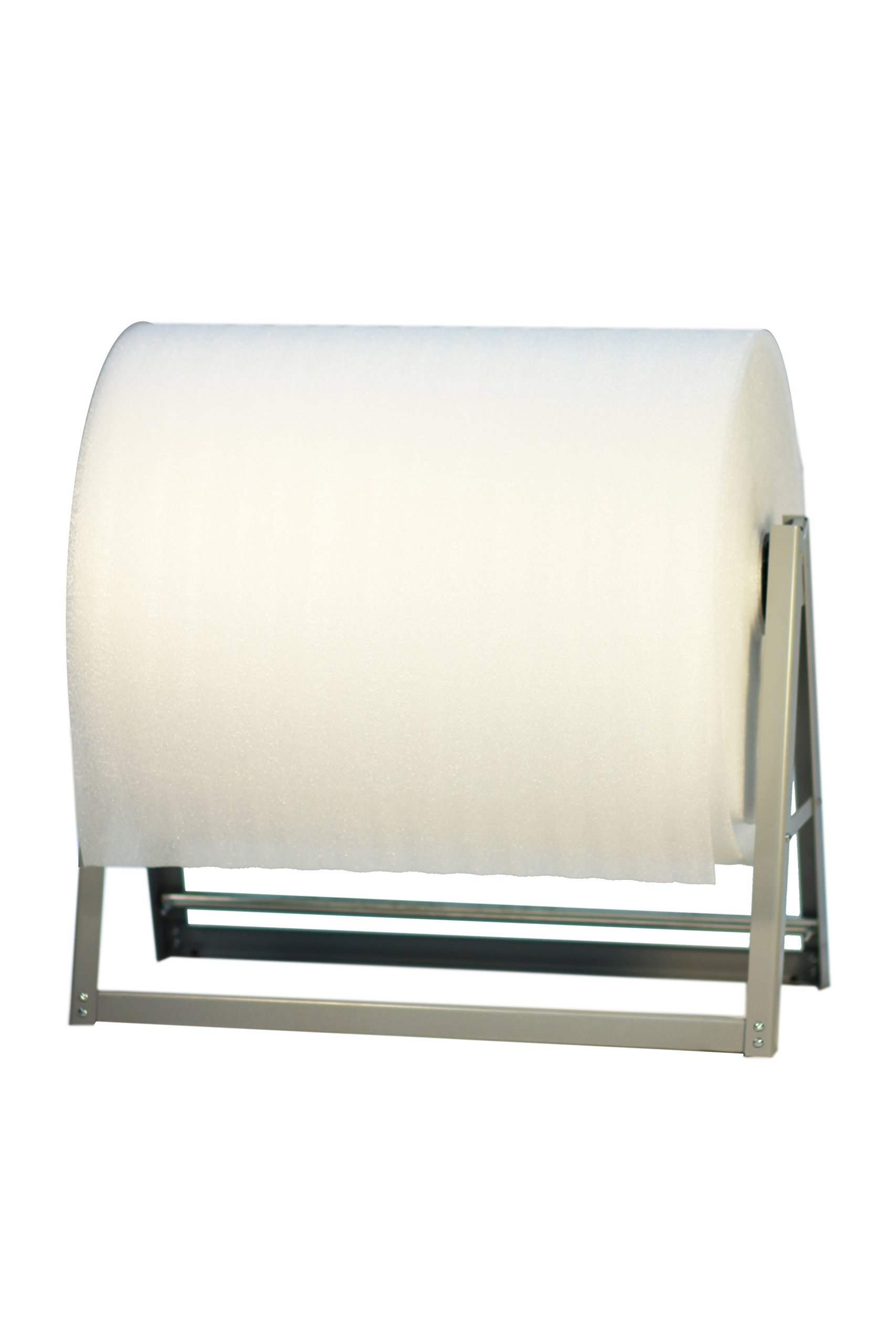 24'' Foam/ Bubble Cushion Wrap Dispenser Reel Holder - 40'' Diameter Roll - Bulman-M560-24 by Miller Supply Inc