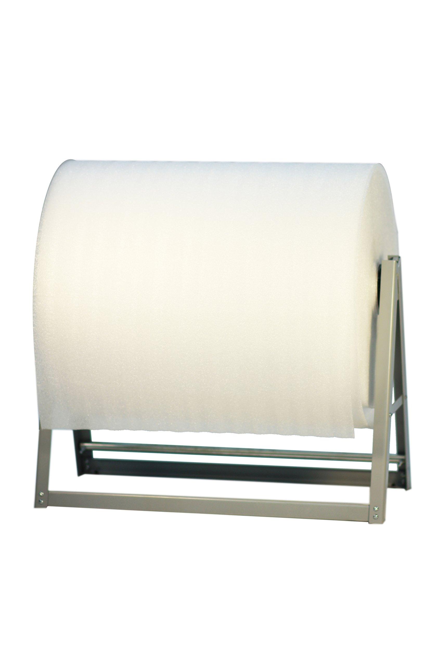 24'' Foam/ Bubble Cushion Wrap Dispenser Reel Holder - 40'' Diameter Roll - Bulman-M560-24