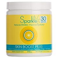 Hydrolyzed Collagen Powder - Sparkle Skin Boost Plus (No Flavor) [30-Serves] Verisol...