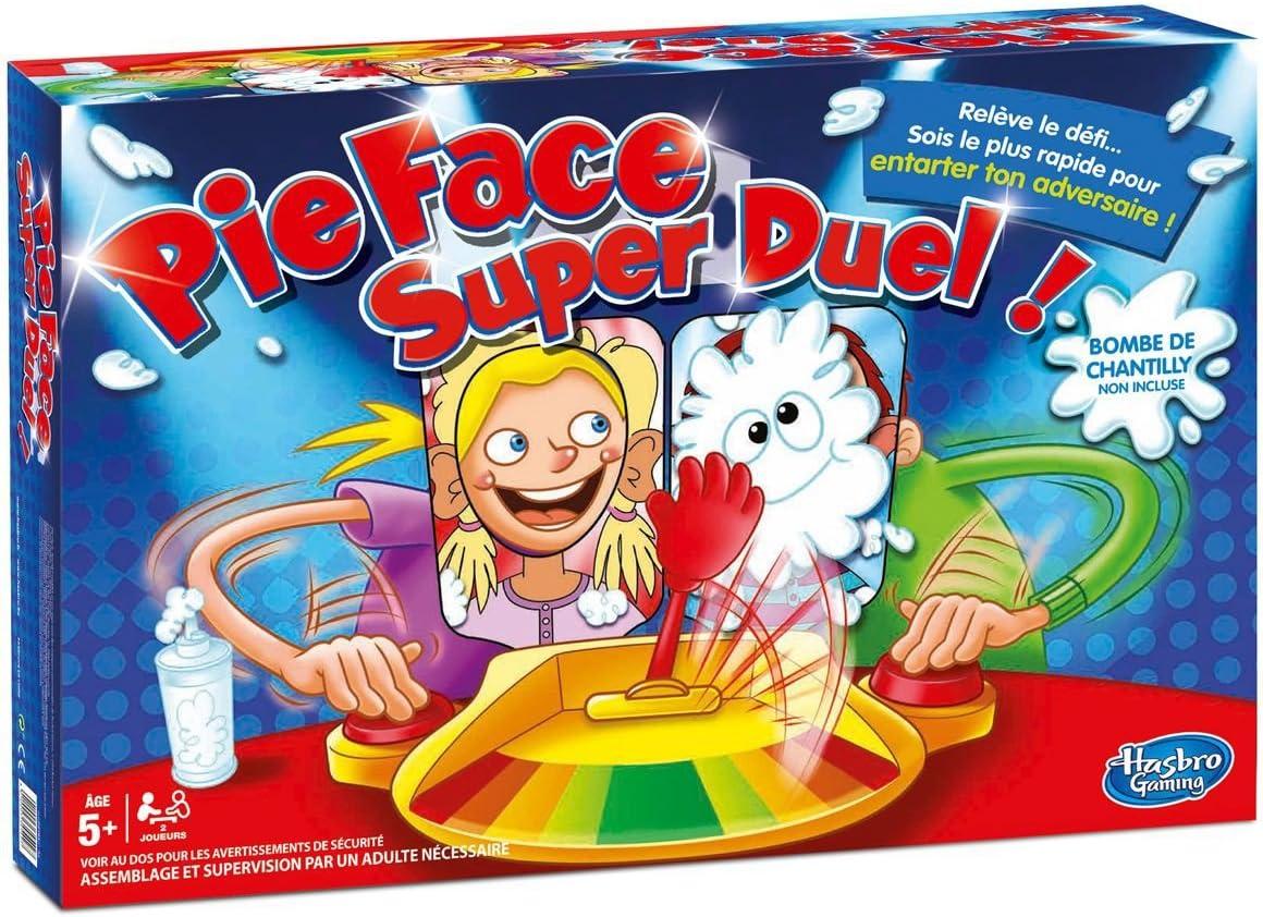 Hasbro C01931010 Pie Face Super Duel - Juego de Mesa: Amazon.es: Juguetes y juegos