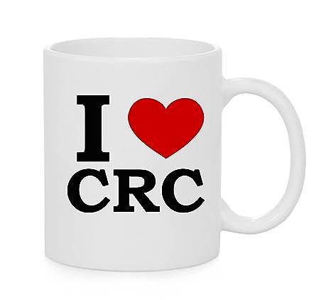 I taza del corazón CRC (amor)