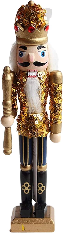 Premier Nutcrackers Set of 3 Hanging Christmas Tree Decorations 20cm
