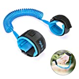 Amazon Price History for:Baby Anti Lost Wrist Link Child Leash Wrist Strips Safety Velcro Link Walking Hands Belt 98in/2.5m Baby Harness Toddler Leash Strap Rope for Kids, Blue by ELOKI