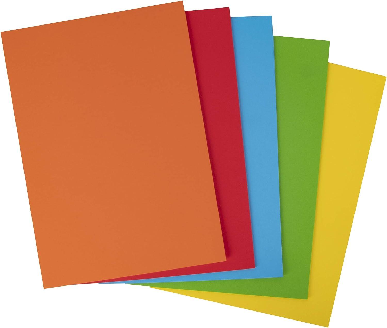 Cartulinas Colores: Amazon.es: Oficina y papelería