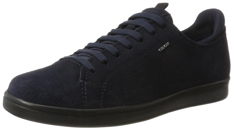 Herren U Warrens B Sneaker, Grau (Dk Grey), 41 EU Geox