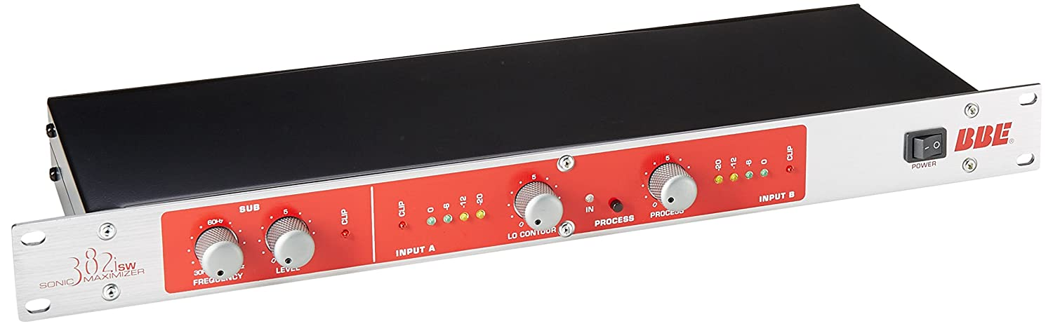 BBE 382i-SW 2 Channel Sonic Maximizer with Subwoofer Output Control