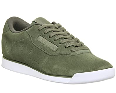 2f1cc60982b0b6 Reebok Women s Princess EB Sneakers Green Size  3 UK  Amazon.co.uk ...
