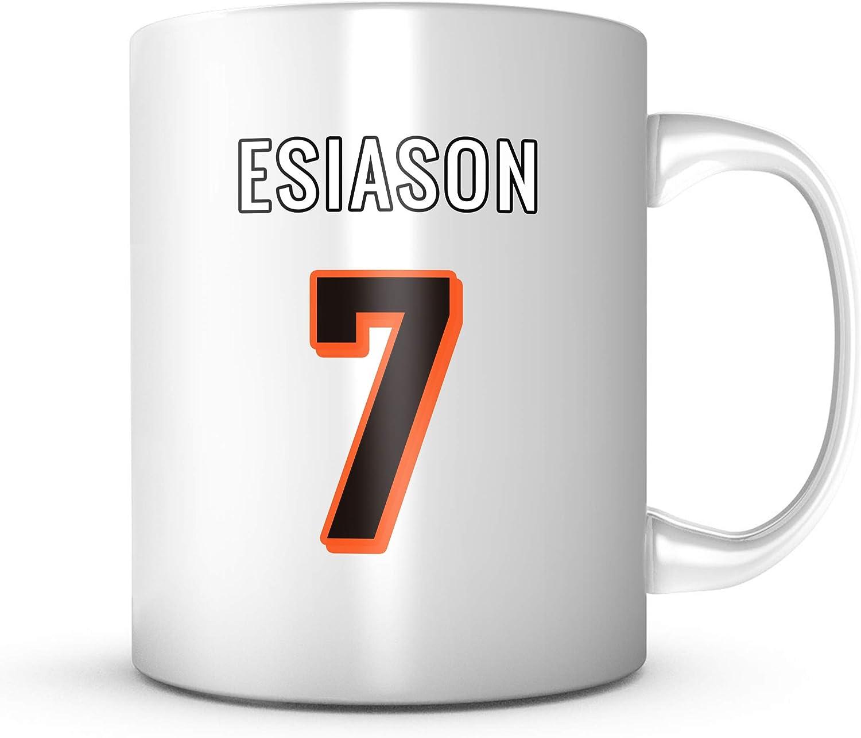 Boomer Esiason Mug - Cincinnati Football Jersey Number Coffee Cup 71gOvZ7XE2BL