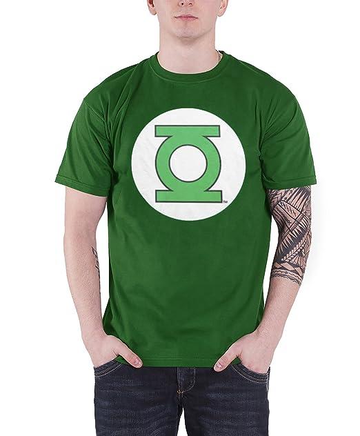 8995f18b1 Green Lantern T Shirt Logo new Official DC Comics Mens Green: Amazon.ca:  Clothing & Accessories