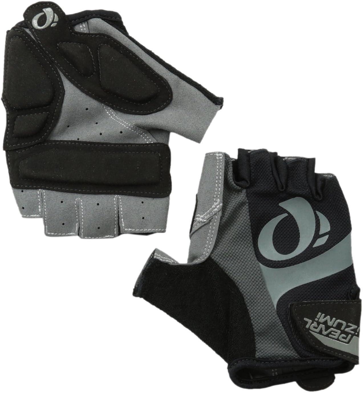 Pearl Izumi Mens Select Short Finger Gloves Black//Screaming Green MD