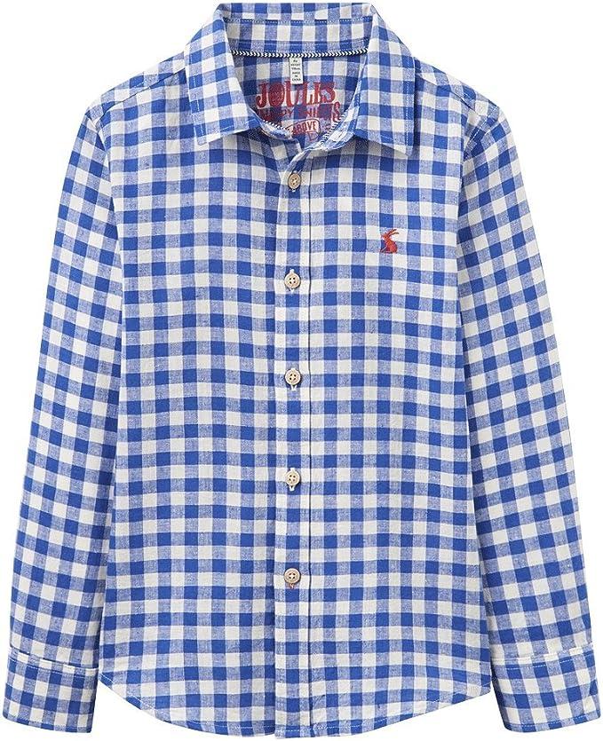 Colour Blue Joules Boys Sark Boys Check Shirt
