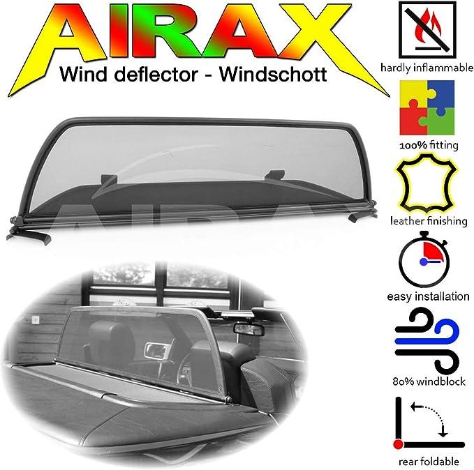 Airax Windschott Für Sl R129 Windabweiser Windscherm Windstop Wind Deflector Déflecteur De Vent Auto