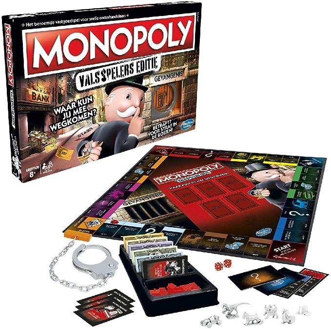 Hasbro Monopoly Valsspelers Editie Niños y Adultos Simulación económica - Juego de Tablero (Simulación económica, Niños y Adultos, Niño/niña, 8 año(s), Interior): Amazon.es: Juguetes y juegos