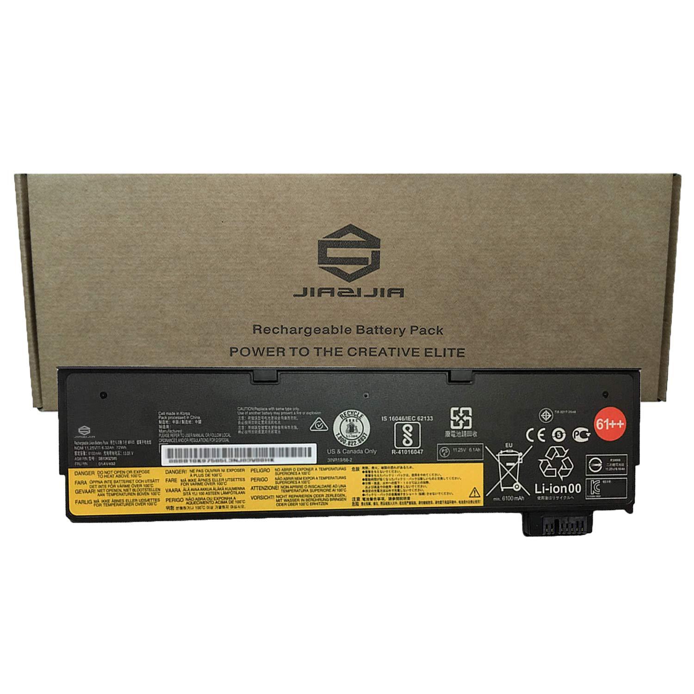 JIAZIJIA Compatible Laptop Battery with Lenovo 01AV492 [11.25V 72Wh 6320mAh 6-Cell] ThinkPad TP25 P51S P52S T470 T480 T570 T580 Series Notebook 61++ 01AV427 01AV428 4X50M08812 SB10K97584 SB10K97585
