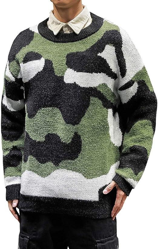 MirrliyMen Long Sleeve Pocket Solid Button Stand Collar Mid Long Woolen Jacket