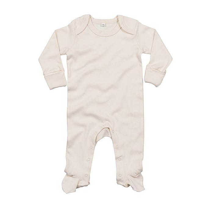 Babybugz - Pijama con cuello en forma de sobre de algodón orgánico para bebé: Amazon.es: Ropa y accesorios