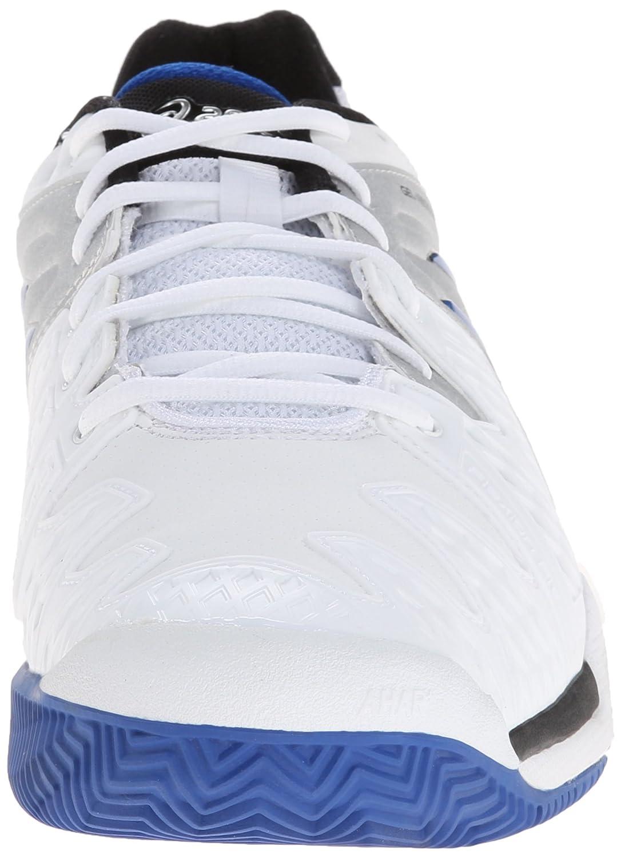 Resolución Asics Gel 6 Zapatos Azules / Naranja Para Hombre w189gBy