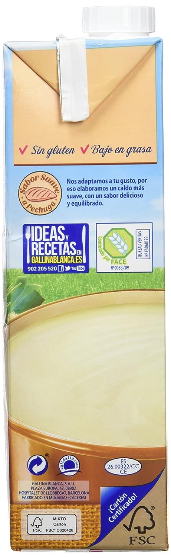 Gallina blanca caldo casero suave de pollo 100% natural(1x1l) - [pack de 3]: Amazon.es: Alimentación y bebidas