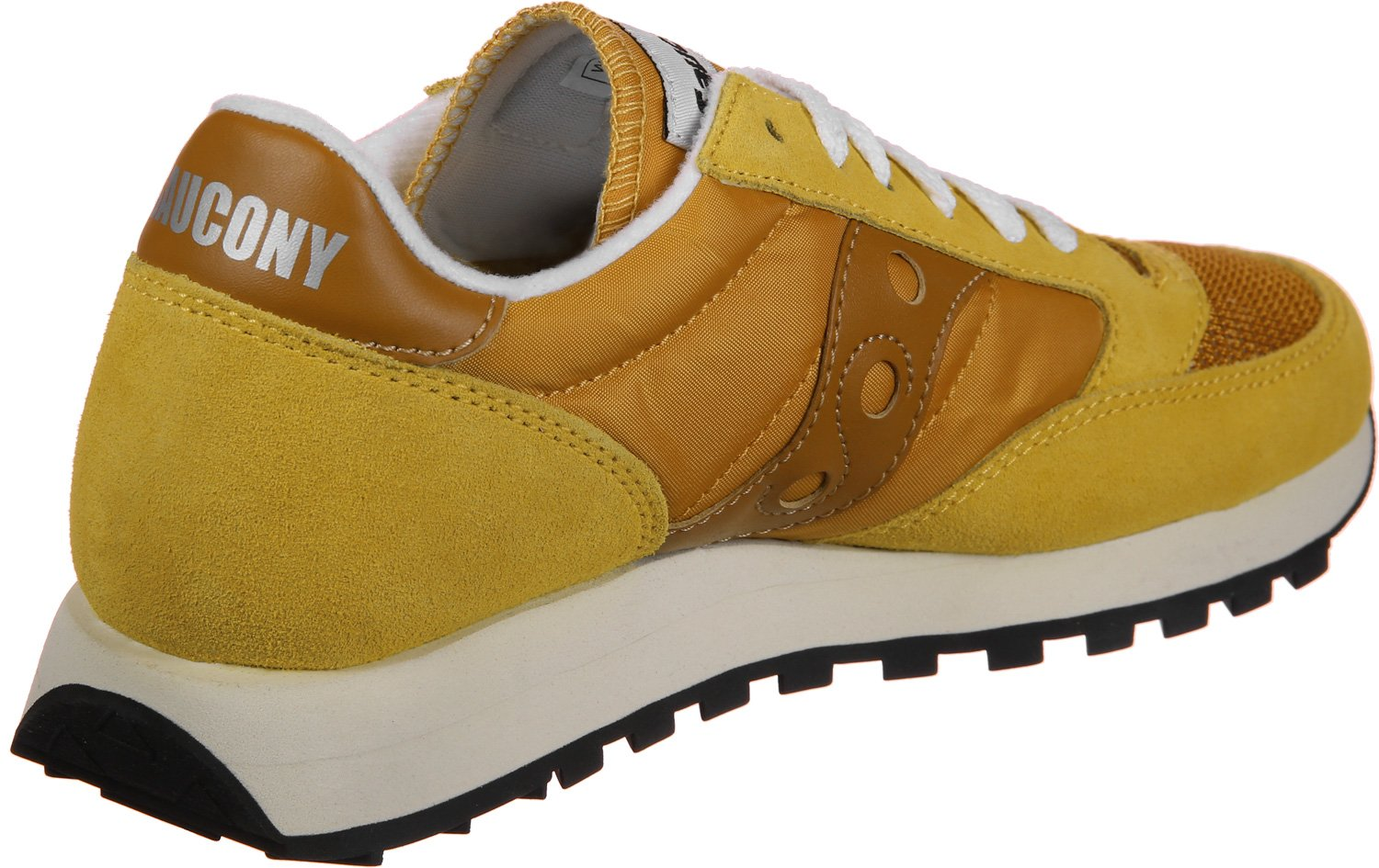 Saucony Jazz Original Vintage Womens Trainers Gold - 7.5 UK by Saucony (Image #1)