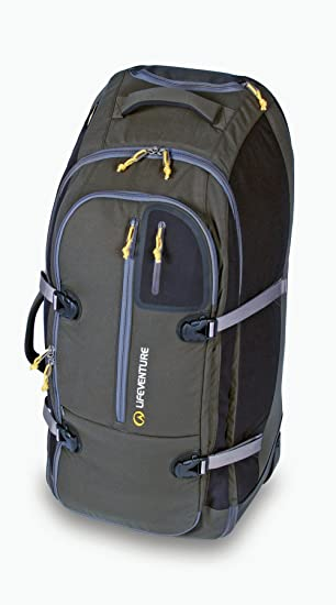 Lifeventure Ceduna 120 Wheelie Luggage - Green  Amazon.co.uk  Sports ... 4164ffae9a209