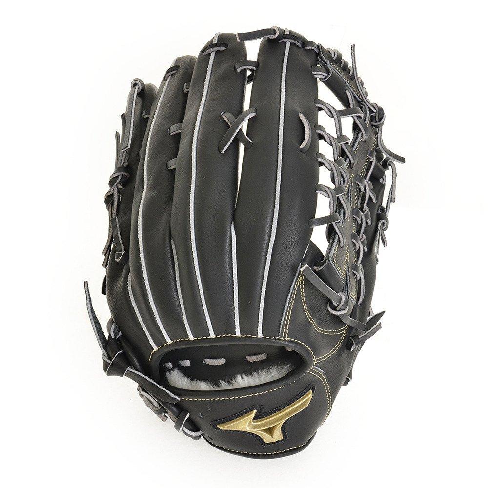 [ミズノ] ソフトボール用 グローブ グローバルエリート Hselection01 外野手用 サイズ16N 09/ブラック 1AJGS18207 B077Y3B78H FF ブラック ブラック FF