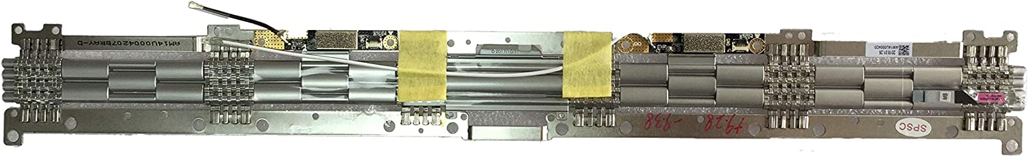 LCD Hinge for Lenovo Ideapad Yoga 920-13IKB Compatible 5H50Q59904, Left + Right Replacement Hinge
