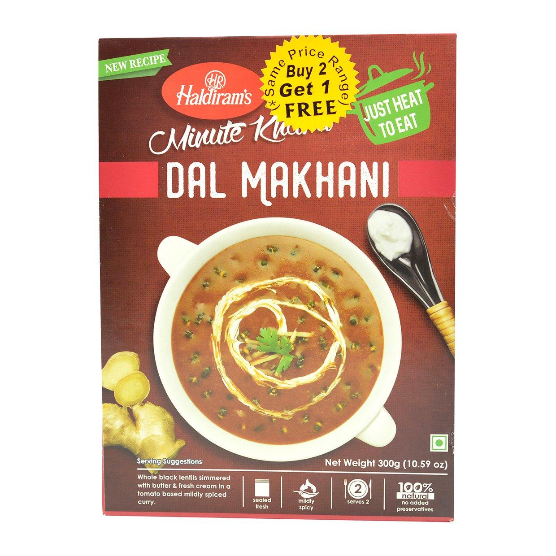 Haldirams, Minute Khana Dal Makhani, 300 Grams(gm)