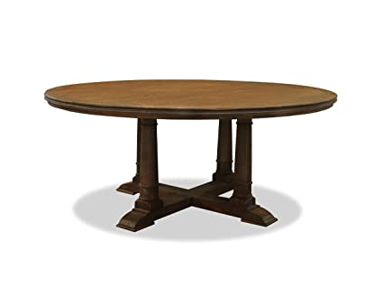 South Cone Home Marie Round Dining Table 72 Cognac
