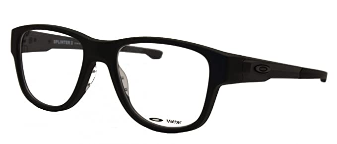 1687b35906 Oakley Rx Frame Splinter 2.0 8094 809401 Satin Black 51mm at Amazon ...