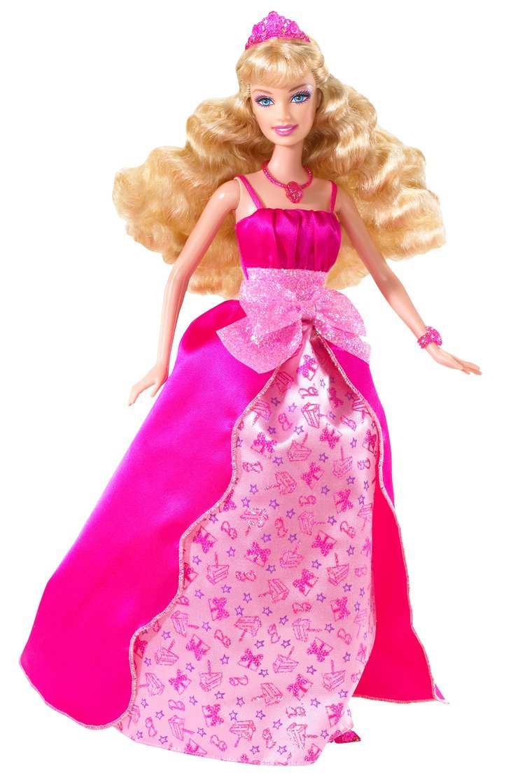 Amazon.com: Happy Birthday Barbie Princess Doll: Toys & Games