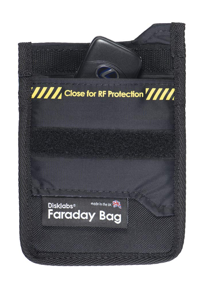 Disklabs Key Shield (KS1) Faraday Bag - RF Shielding for Car Keys