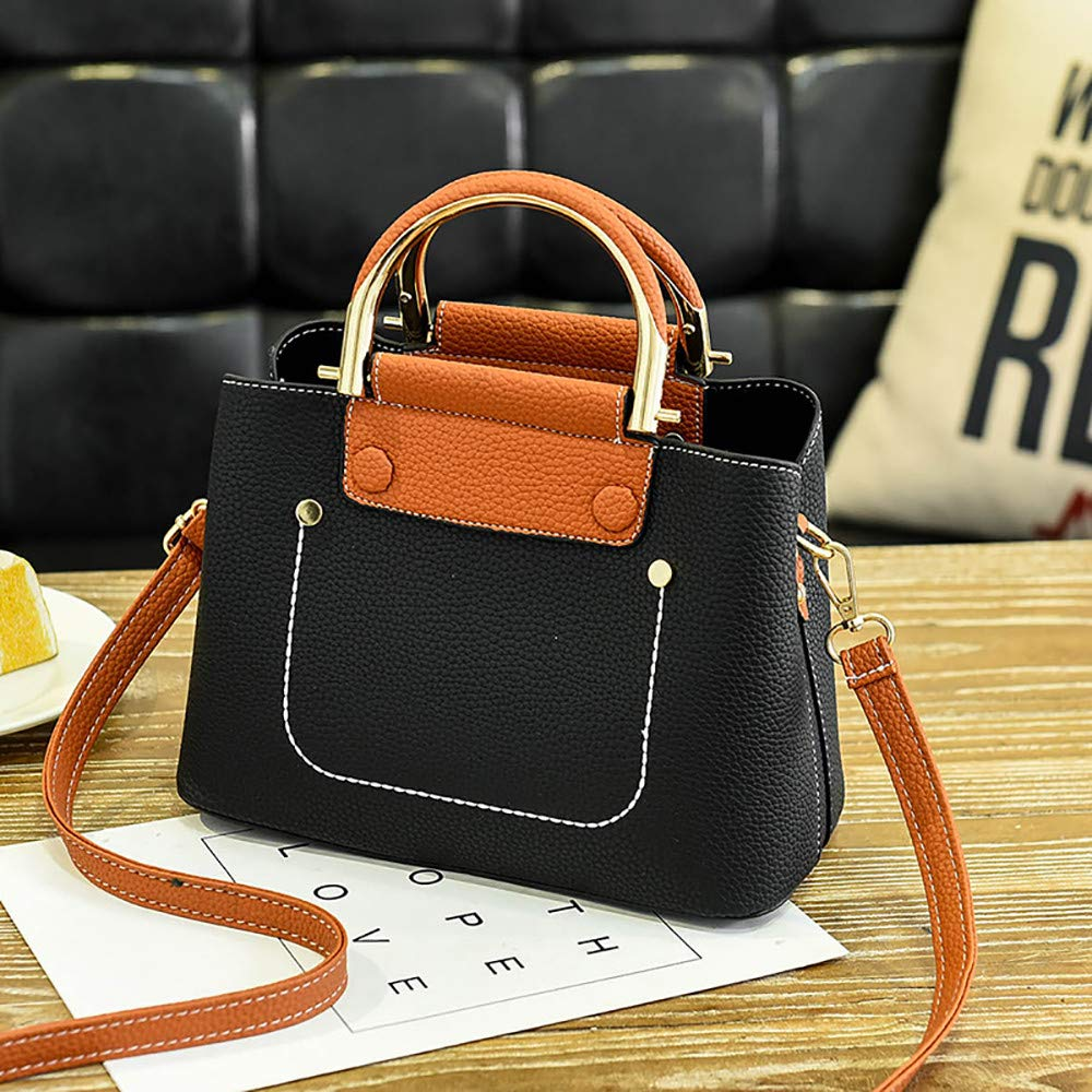 42de01c20837 Amazon.com: Xturfuo Lightweight Medium Crossbody Bag Handle Handbag ...