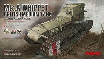 Meng Kit para Construir maqueta 1:35 del Tanque británico MK. A Whippet