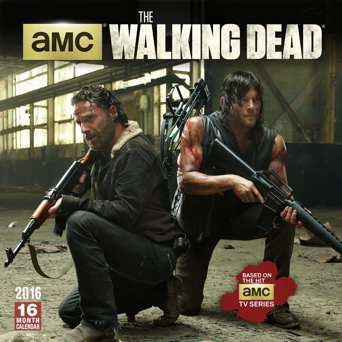 Walking Dead 2019 Calendar Walking Dead 2016 Wall Calendar: Amc: 9781416297789: Amazon.com: Books