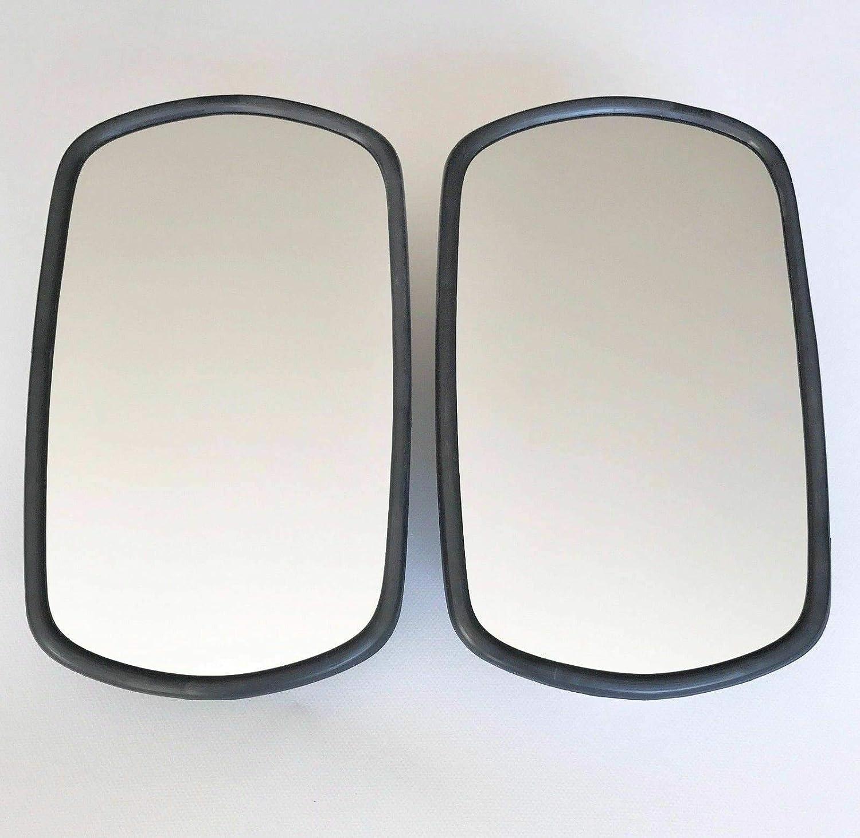 2x Au/ßenspiegel Spiegel Traktor 260x150 mm /ø14-23 Spiegelarm Spiegelhalter SET