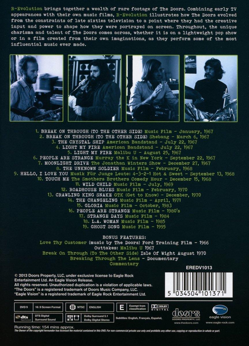 & Amazon.com: Doors - R-Evolution (special edition): Movies u0026 TV
