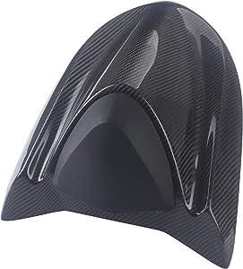 Mingting Carbon Fiber Rear Seat Fairing Cover Cowl for 2004-2005 Kawasaki Ninja ZX10R, 2x2 Twill Weave