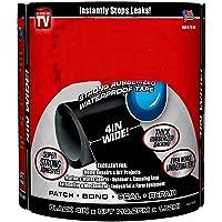 "Basic Deal - Strong Rubberized Waterproof Tape Black 4"" X 5'"