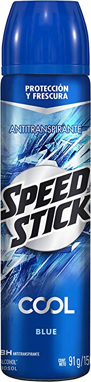 Desodorante Speed Stick Cool Azul Spray 91 G