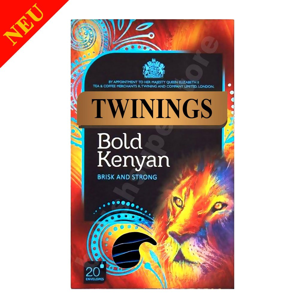 Twinings Bold Kenyan Tea 20 Individually Enveloped String & Tag Tea Bags