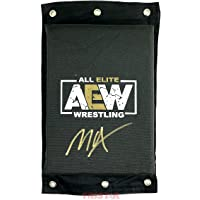 $109 » Jon Moxley Signed Autographed AEW Turnbuckle Pad TRISTAR