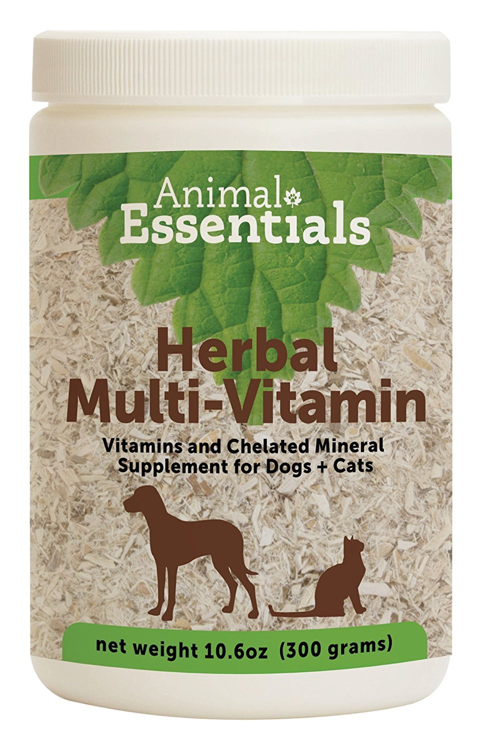 Animal Essentials Herbal Green Alternative Dog and Cat Supplement - 10.6 Ounce Jar (2 pack) by 0ANIV