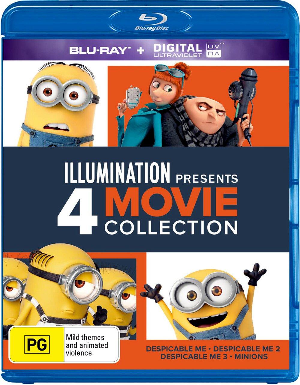 Despicable Me 4 Movie Collection (2010-2017) Dual Audio [Hindi + English] | x264 | x265 10bit HEVC Bluray | 1080p | 720p