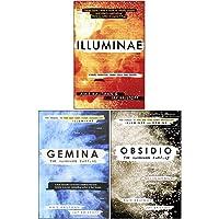 Illuminae Files Series Collection 3 Books Set By Jay Kristoff, Amie Kaufman (Illuminae, Gemina, Obsidio)