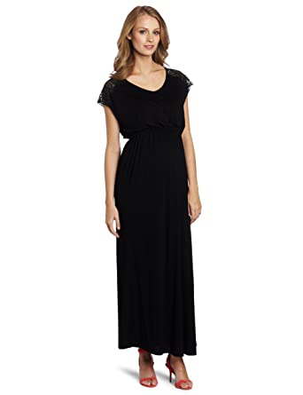 Black maternity cocktail dresses