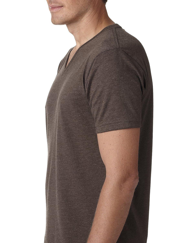 687b61d831ed Next Level Premium CVC V-Neck T-Shirt   Amazon.com