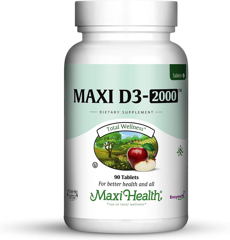 Maxi Health Natural Vitamin D3 -