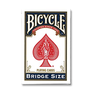 Bicycle Bridge Size Playing Cards (Colors May Vary): Sports & Outdoors
