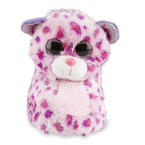 Ty Beanie Baby Boos Toddler Girls Raised Plush Glamour Leopard Scuff Slipper  (Little Kid ab8f322f6e11